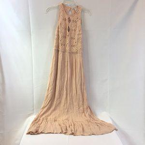 New American rag maxi dress